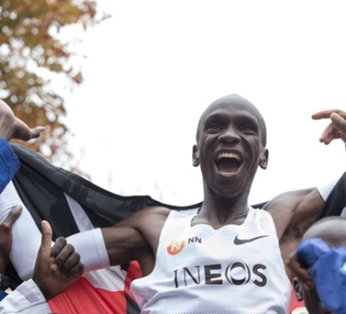 Eliud Kipchoge Wins Two-Hour Marathon