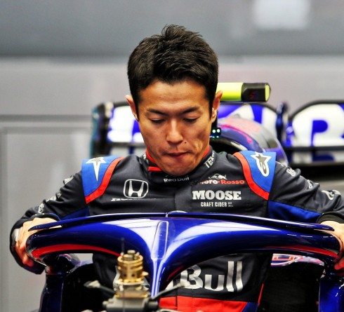 Naoki Yamamoto at Japanese GP 2019