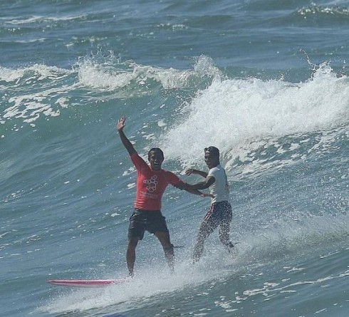 Roger Casugay, Philippine Athlete who Saved Indonesian Surfer