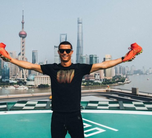 Ronaldo Rules Over the Digital World of China
