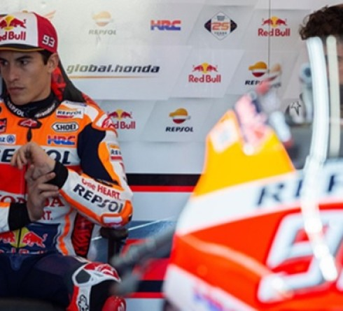 Marc Marquez Gives an Update on His Shoulder Injury