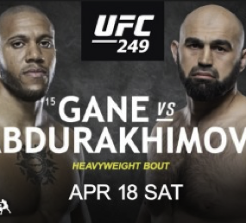 Cyril Gane Faces Shamil Abdurakhimov in UFC 249
