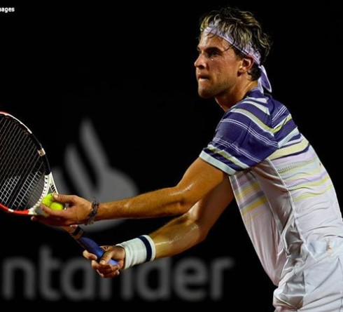 Out of Jaume Munar's Pressure, Dominic Thiem Steps Into the Rio Open Quarterfinals