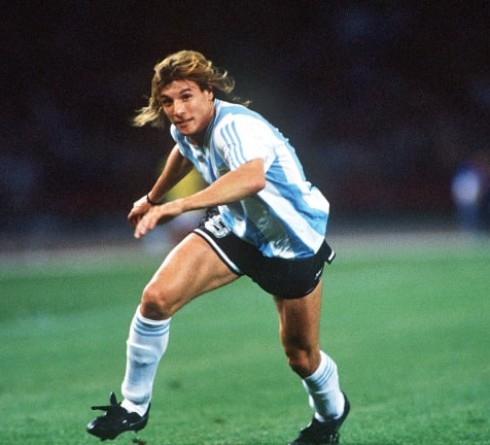 Caniggia, a Fast Runner Who Chooses to Be a Footballer