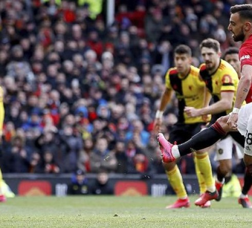 English Premier League Results: Manchester United beat Watford 3-0