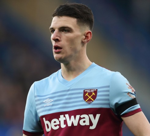 Declan Rice Has Been Eyed by Top Clubs in EPL