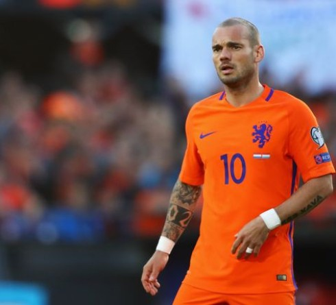 Wesley Sneijder is Considering A Big Return from Retirement