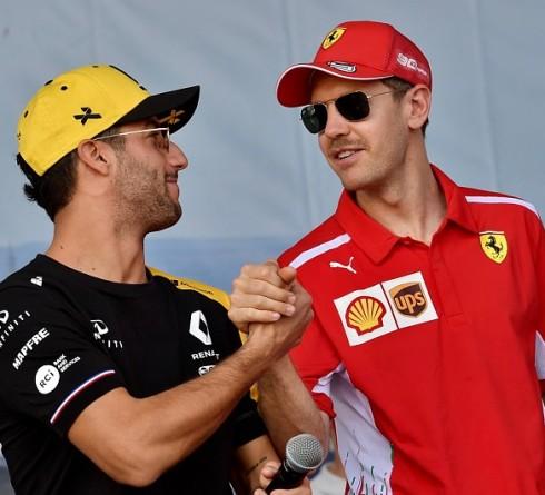 Ricciardo advises Vettel