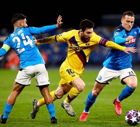 Barcelona are No Match for Napoli