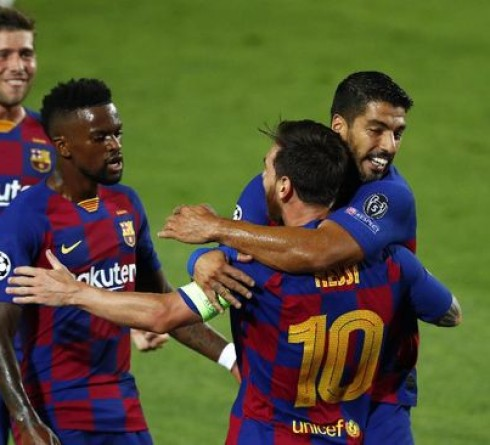 Barcelona and Bayern Munich Advanced to the Champions League Quarter-finals