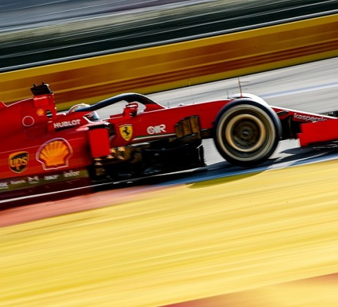 Ferrari: Upgraded SF1000 at Eifel GP