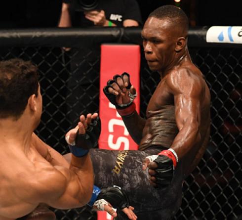 Israel Adesanya Defends His Title Against Paul Costa in