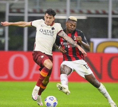 Italian League Results: 2 goals Ibrahimovic, Milan Held Draw by Roma