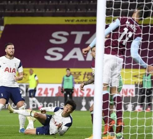 English Premier League Results: Son Bring Tottenham Beat Burnley