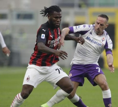 Italian League results: Milan 2-0 win over Fiorentina