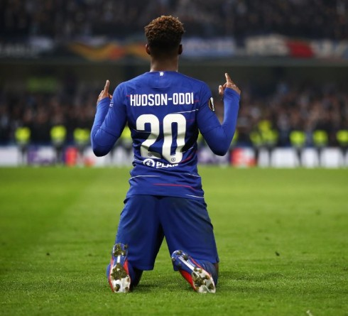 Callum Hudson-Odoi in the Midst of a Competitive Chelsea's Forwards