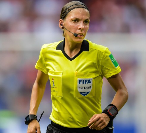 Frappart, the First Woman Referee in Men's Champion League