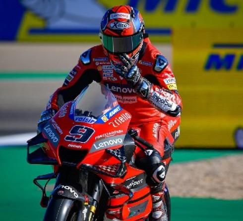 Petrucci Not Happy with Desmosedici GP20
