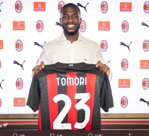 Fikayo Tomori Officially Signs with AC Milan