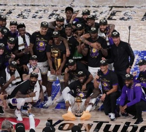 A gift for Kobe Bryant, Lakers, the 2020 NBA Champion