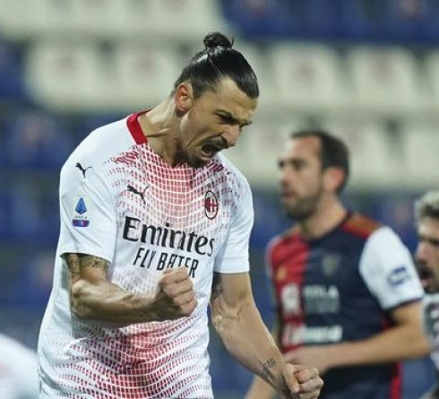 Italy Serie A Results: Ibrahimovic Bring AC Milan Beat Cagliari