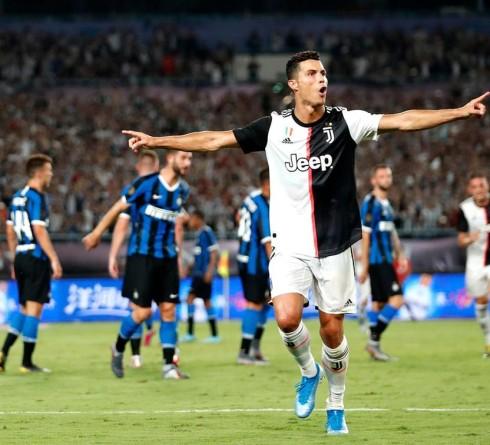 Cristiano Ronaldo Goes Crazy in The Inter vs Juventus Match