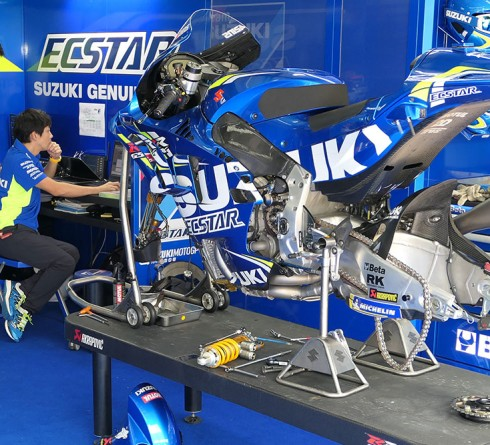 The Sophisticated Electronic System for MotoGP Bikes