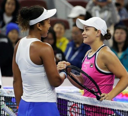 Ashleigh Barty Is Not Stressed About Building Rivalry Against Naomi Osaka