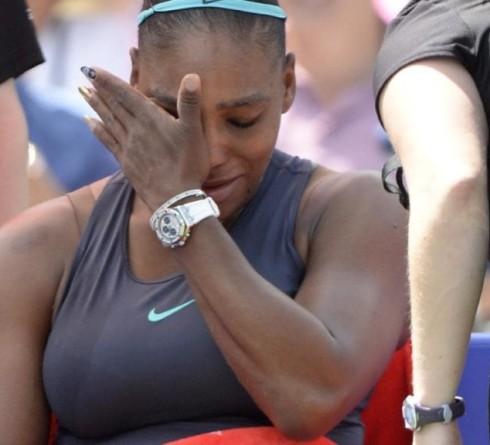 Serena's Tears after Australia Open 2021