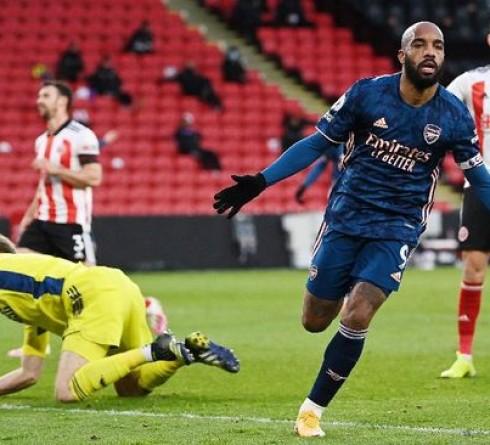 Premier League results: Arsenal Beat Sheffield 3-0