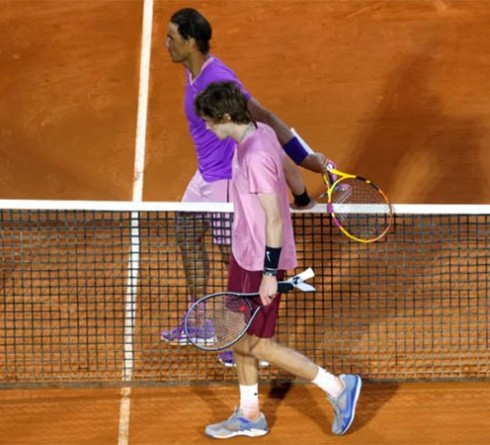 Andrey Rublev admits Nadal's absence at Wimbledon would be an advantage