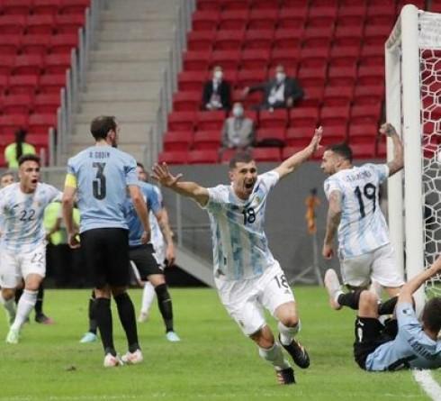 Copa America results: Argentina beat Uruguay