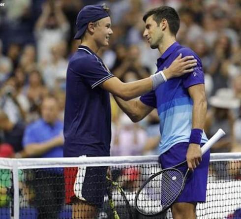 Holger Vitus Nodskov Rune Recalls Match Against Novak Djokovic at US Open 2021