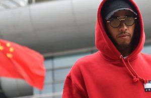 Lewis Hamilton at China 2018