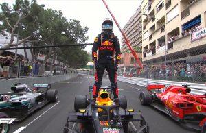 Daniel Ricciardo Monaco Win 2018