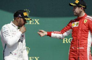 Hamilton vs Ferrari British GP