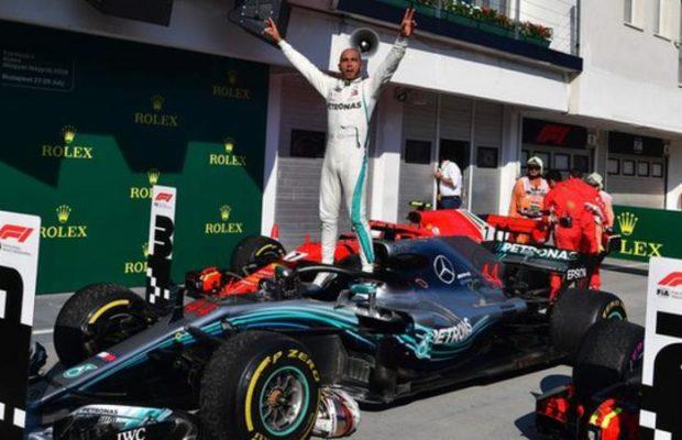 Lewis Hamilton and Sebastian Vettel Intense