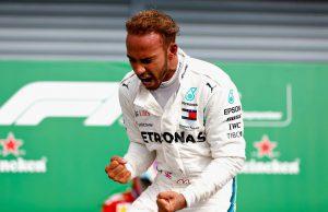 Hamilton Monza Victory