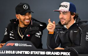Alonso list contain Hamilton