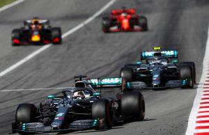 Hamilton and Bottas