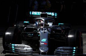 Mercedes 2019 - Hamilton 44