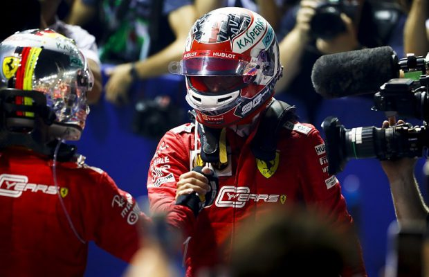 Leclerc vs Vettel at Marina