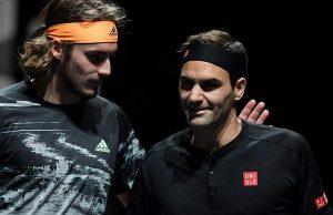 Roger Federer Stefanos Tsitsipas
