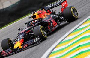 Verstappen in Brazil
