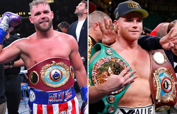 Saunders Call out Canelo