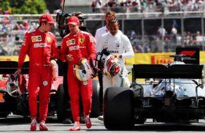 Hamilton and Ferrari