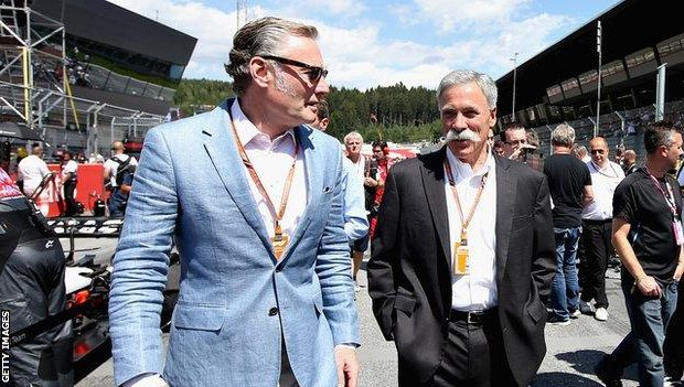 Bratches leaving F1 Commercial Management