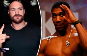 Anthony Joshua Sends Message to Tyson Fury