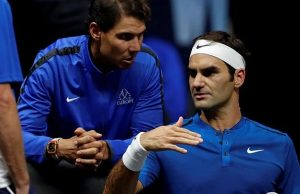 Rafael Nadal dan Roger Federer