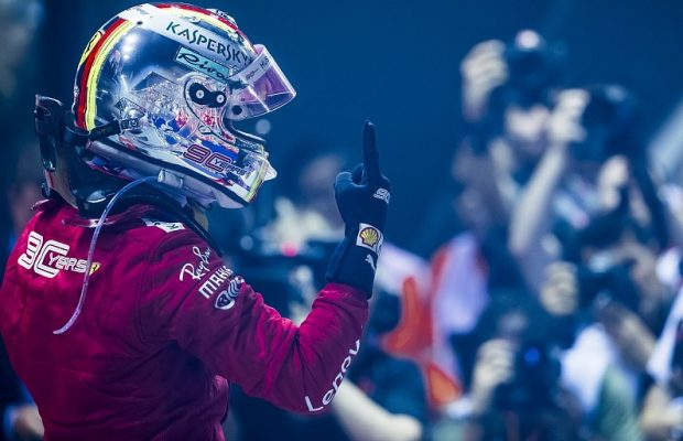 Vettel happy with 10 events